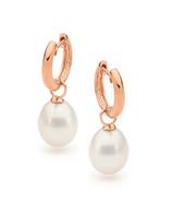 9ct 9mm Drop Freshwater Pearl Earrings