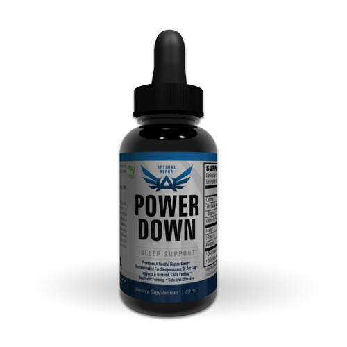 Pure Liquid Melatonin Sleep Support - Power Down from ImSoAlpha.com