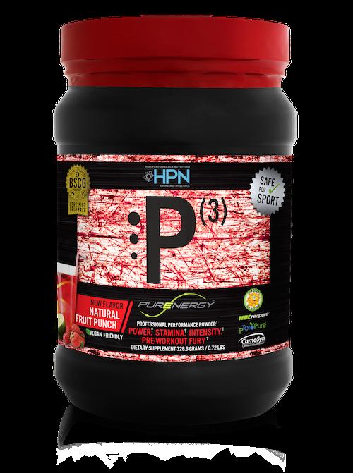 HPN P(3) PRE-WORKOUT DRINK at ImSoAlpha.com