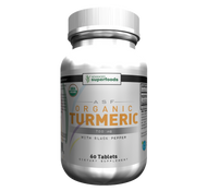 ASF Organic Turmeric with Black Pepper