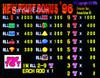 Fruit Bonus 96 SE Title Screen with Odds
