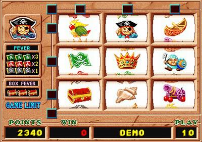 Golden Treasure Island Main Game