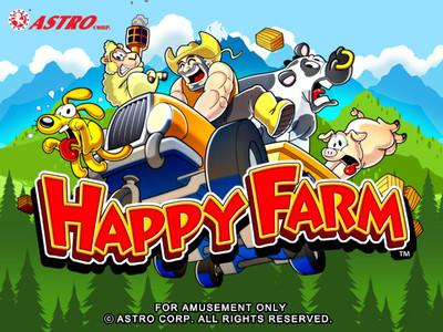 Happy Farm Title Screen