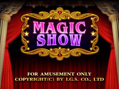 Magic Show Title Screen