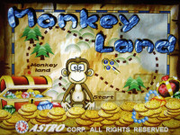 Monkey Land Title Screen