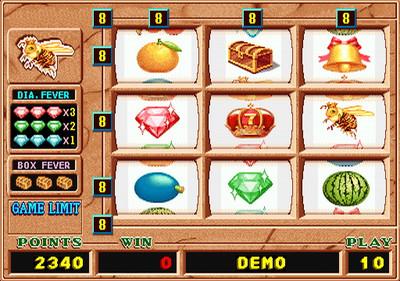 Queen Bee Main Game Fruit Graphics