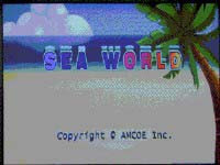 Sea World - 25 Line CGA Game By Amcoe