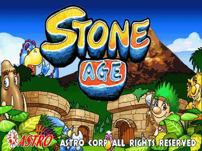 Stone Age Title Screen