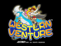 Western Venture Title Screen