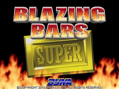 Blazing Bars Title Screen