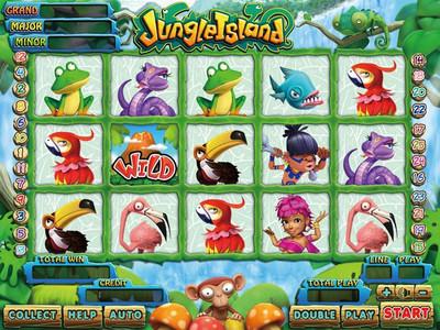Jungle Island Main Game