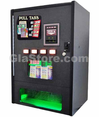 Pull Tab Dispenser - 2 Column - Table Top Side 1
