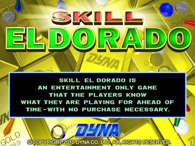 Skill El Dorado Title Screen