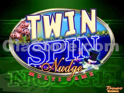 Twin Spin Nudge Title Screen