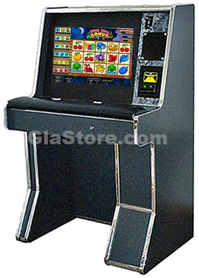 """Sit Down 2 in 1 Cherry Master Cabinet - 22"""" LCD Touchscreen Side 1"""