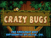 Crazy Bugs Title Screen