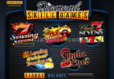 Diamond Skill Games Main Screen