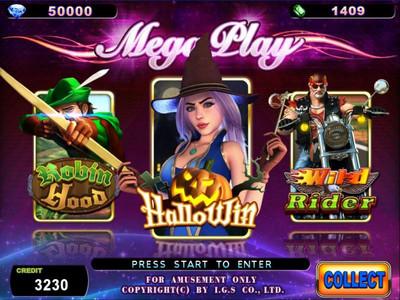 Mega Play Title Screen