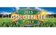 Golden Tee Golf 2015 Title Screen