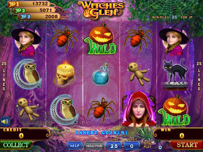 Witches Glen Main Game