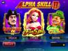 Alpha Skill II Game Menu
