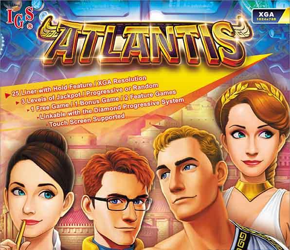 Atlantis Game By IGS