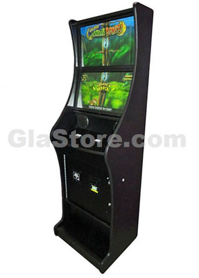 Dual Screen Diamond Platinum Skill Game Cabinet Side 1