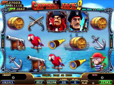 Captain Jack 2 Main Game