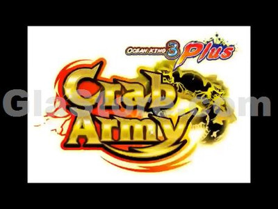 Crab Army Title Screen