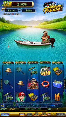 Gone Fishin Main Game