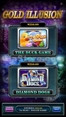 Gold Illusion Choose Game