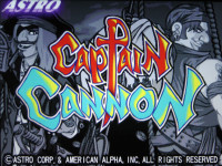 Captain Cannon Title Screen