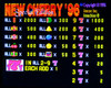 New Cherry '96 SE Title Screen with Odds