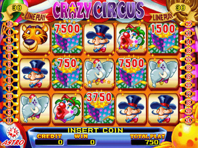 Crazy Circus Main Game