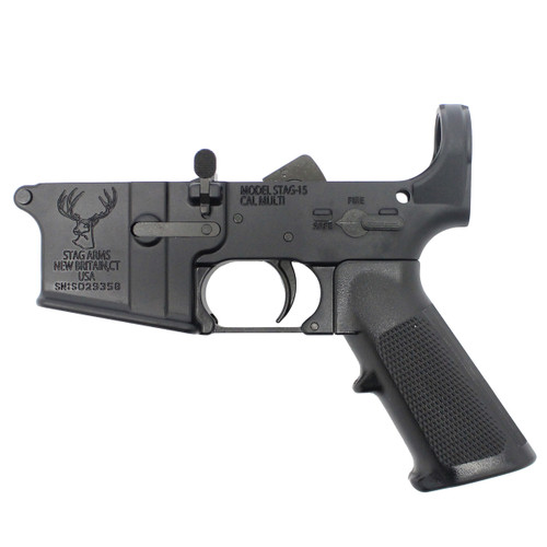 Lower receiver with kit Installed