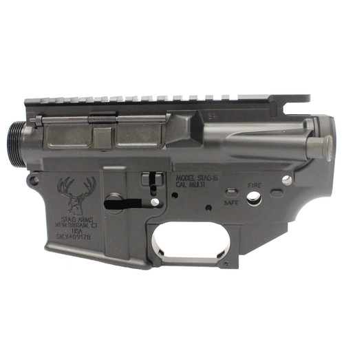 A3 Left Handed Upper Assembly & Stripped Lower w/ Trigger Guard Bundle
