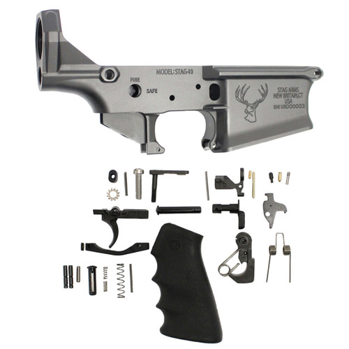 Stripped Stag 10 Lower with Uninstalled Lower Parts Kit