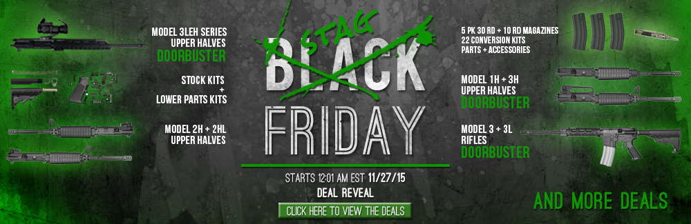 Stag Arms Black Friday