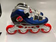 Trurev Smoke 'Em Size 6.5, 84mm skate wheels, swiss bearings.