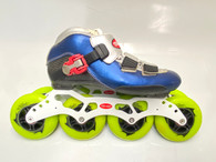 Speed Skate Trurev Smoke Em. Size 4.5. 90mm Wheels