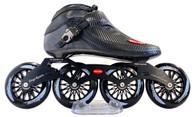Trurev Carbon Fiber Pro Inline Speed Skate Boot - 4 Wheel Limited Edition Frame