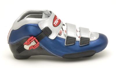 TruRev inline speed skating boot - blue