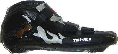 TruRev inline speed skating boot professional - black