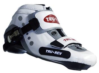 TruRev inline speed skating boot economy - white