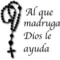 Wall Decals and Stickers - 'Al que madruga dios le ayuda'