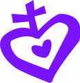 Wall Decals and Stickers - Christian heart