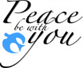 Wall Decals and Stickers - Peace be with you.