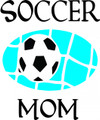 Wall Decals and Stickers - Soccer mom
