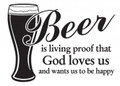 Wall Decals and Stickers-Beer