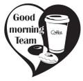 Wall Decals and Stickers-Good morning team